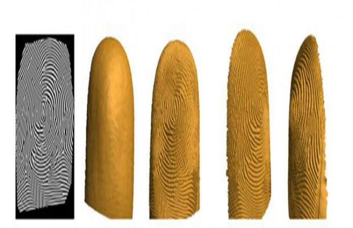 3D пръстов отпечатък