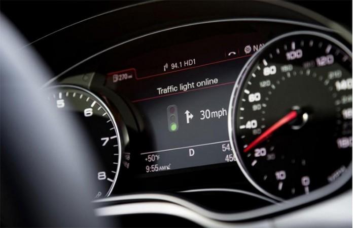Ауди – информационна система за светофарите