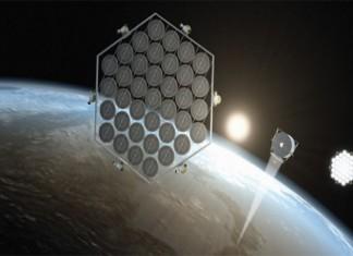 JAXA - соларен парк в орбитата