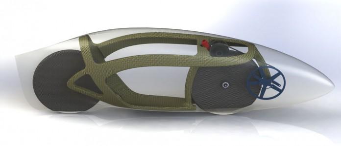 Eta Speedbike на AeroVelo