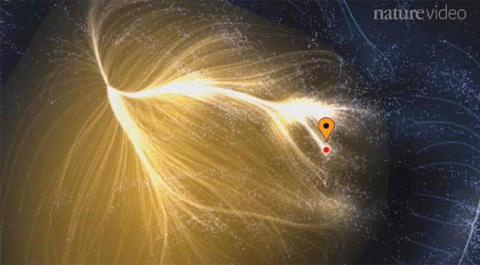 Суперклъстъра Ланиакеа