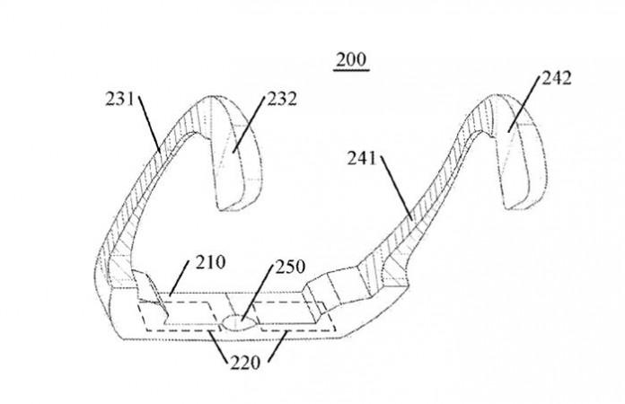 Патент на Lenovo за умни очила