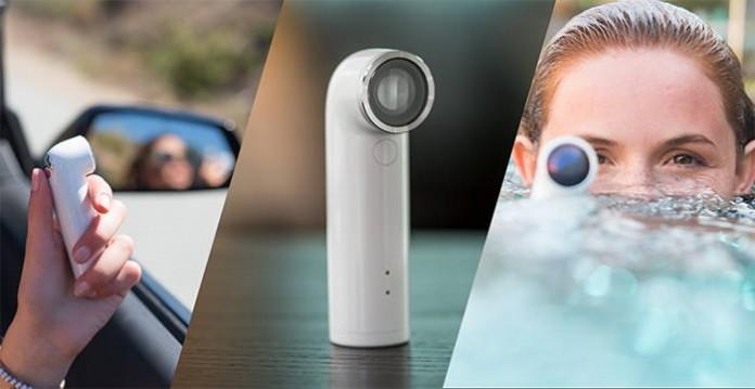 портативната камера RE на HTC