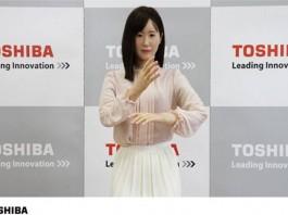 Роботът Аико Чихира използва жестомимичен език