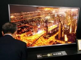 8K телевизор на Sharp