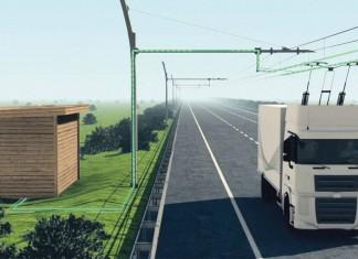 Камиони на е-магистрала