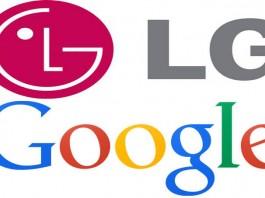 лога на LG и Google