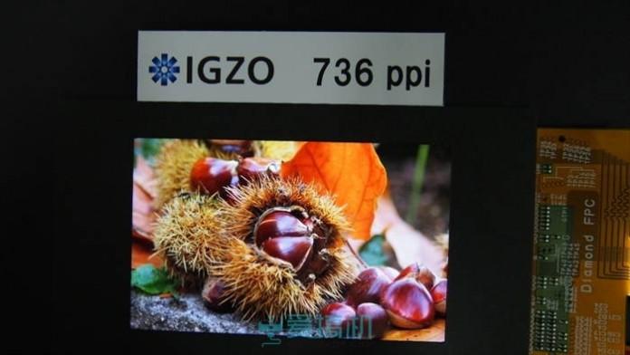 IGZO дисплей на Sharp