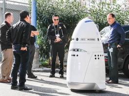 Роботи охранители на компанията Knightscope